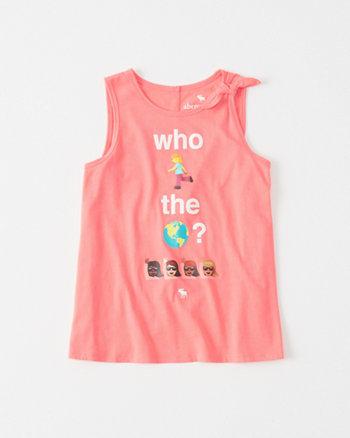 kids Graphic Knot Tank
