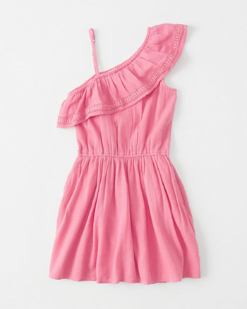 kids Ruffle Shoulder Romper