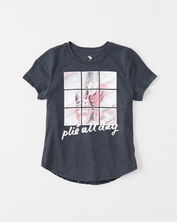 kids Lace Back Tee