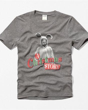 kids a christmas story tee