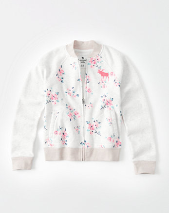 kids Fleece Bomber Jacket