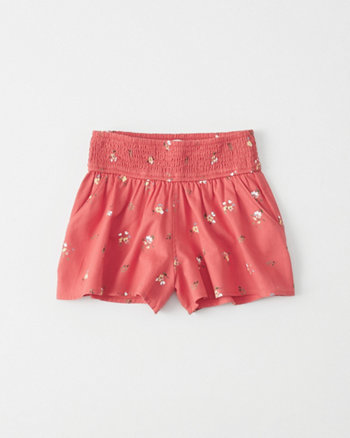 kids Smocked Shorts