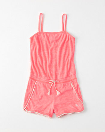 kids Strappy Play Romper