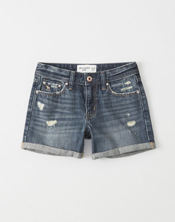 kids Ripped Girlfriend Shorts