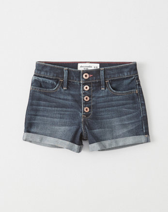 kids High-Rise Shorts