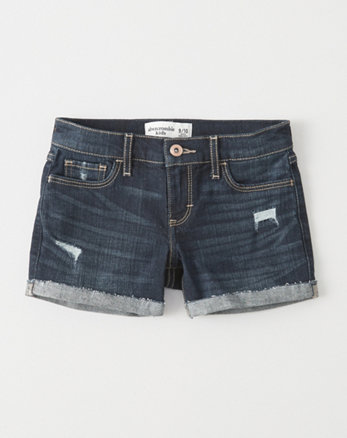 kids Ripped Midi Shorts
