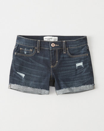 kids Ripped Midi Shorts