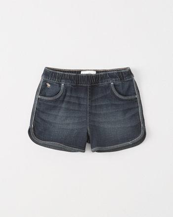 kids Pull-On Denim Shorts