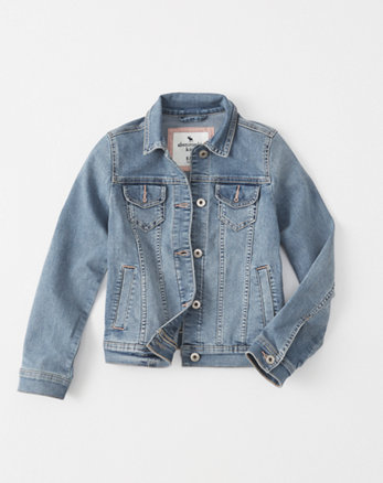 kids stretch denim jacket
