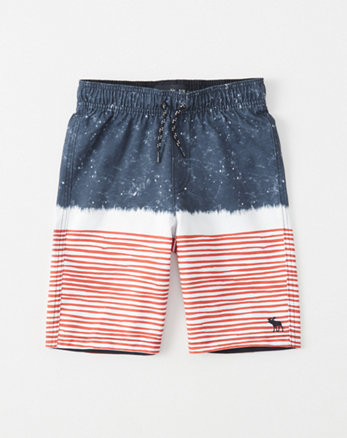 kids Pattern Boardshorts