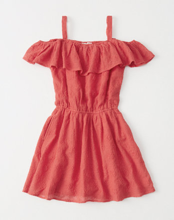 kids Off-The-Shoulder Dress