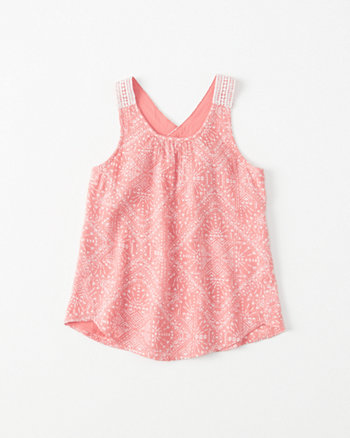 kids Crochet X-Back Tank