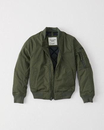 kids classic bomber jacket