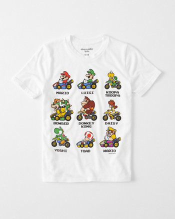 kids fun graphic tee