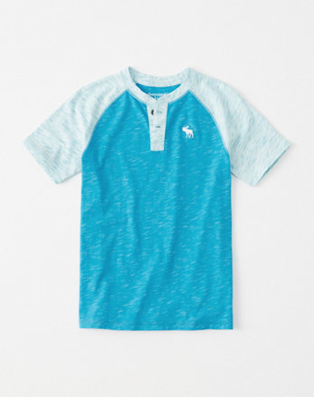 kids raglan icon henley