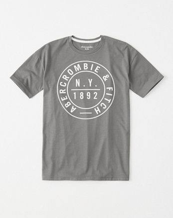 kids logo graphic long tee