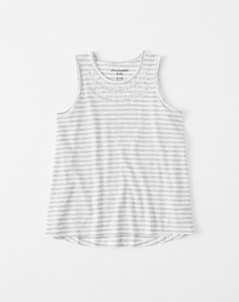 kids shine muscle tank