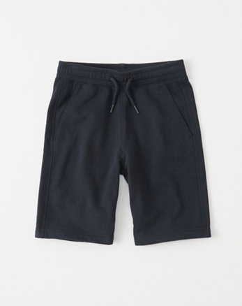kids pull-on fleece shorts