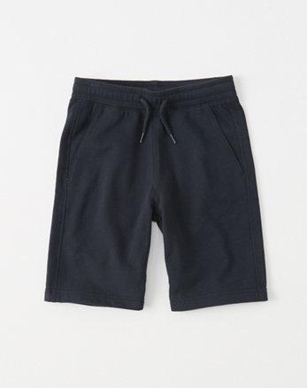 kids pull-on fleece shorts