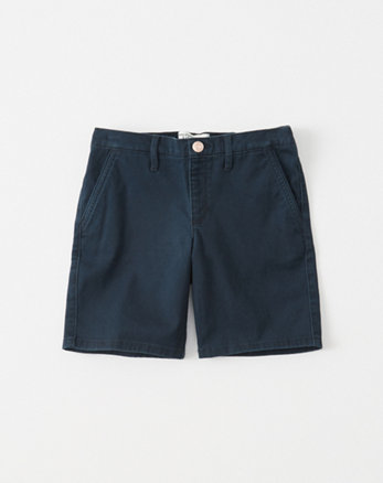 kids twill pull-on boyshorts