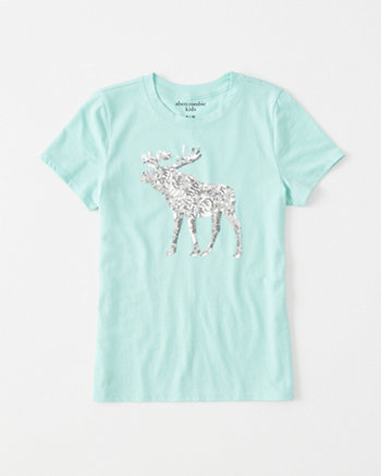 kids Sequin Icon Tee