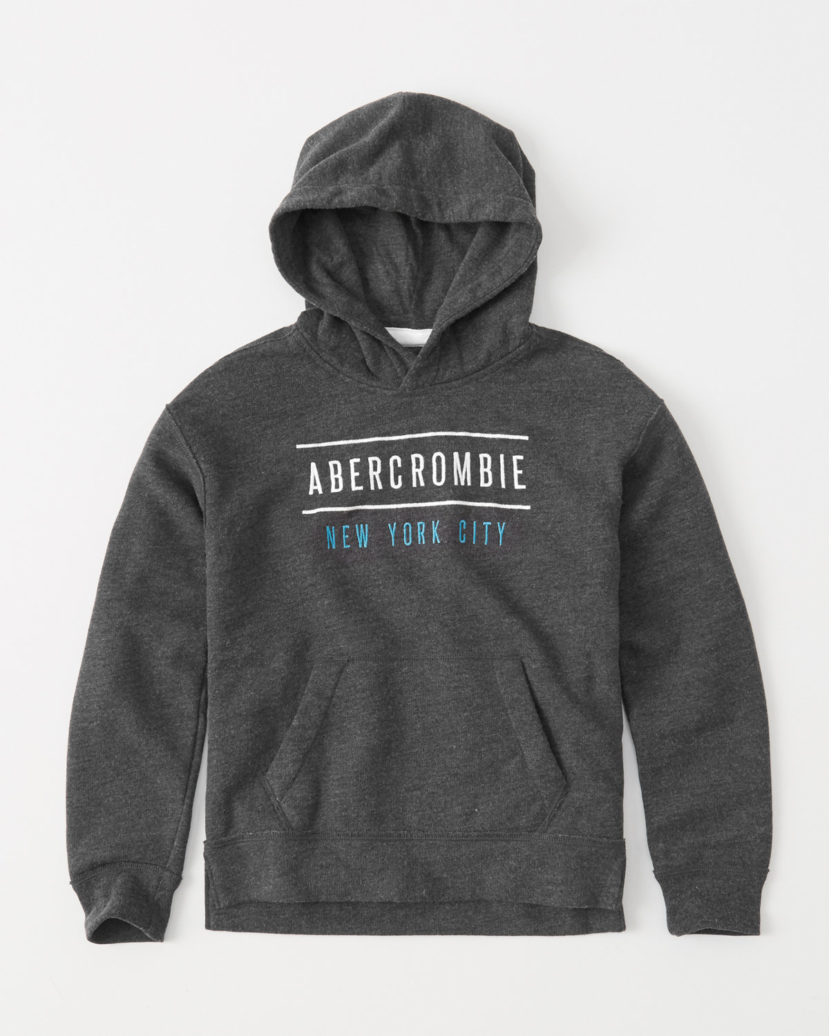 Boys Abercrombie light weight hoodie size 5/6 in great shape!! Boys Abercrombie gray shirt size 5/6 one of letters has a string pulled out a little.