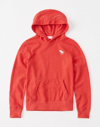 kids icon fleece hoodie