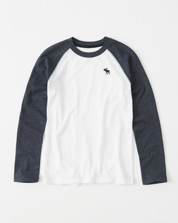 kids icon raglan tee