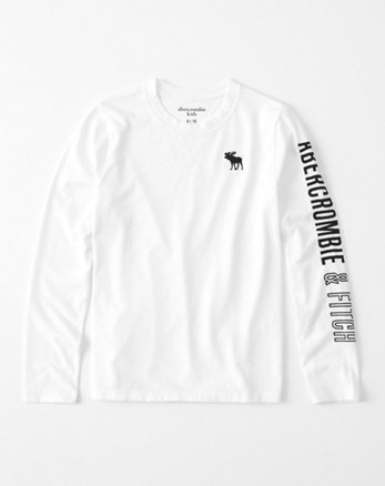 kids logo graphic tee