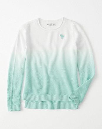 kids dip-dye icon pullover
