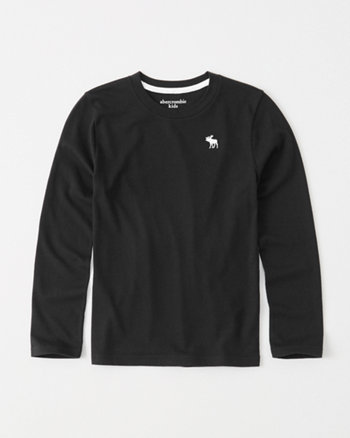 kids long-sleeve icon tee