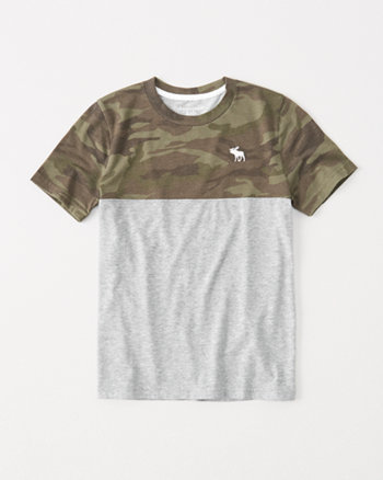 kids pattern-block icon tee