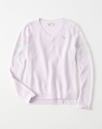 kids shine-stripe icon pullover