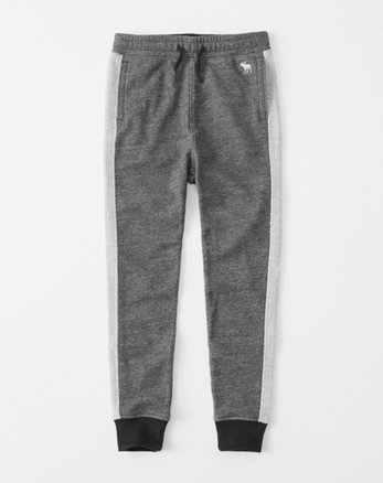 kids side-stripe joggers