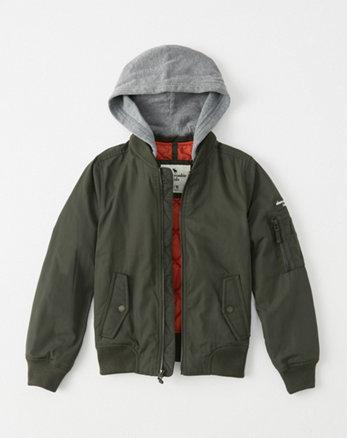 kids twofer bomber jacket