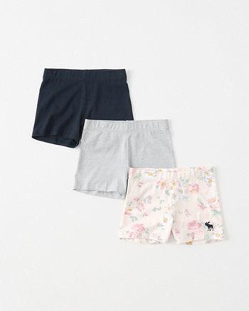 kids tumble shorts set