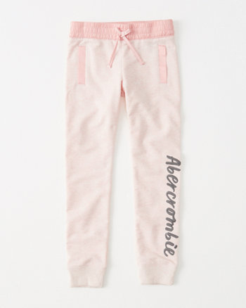 kids logo fleece legging