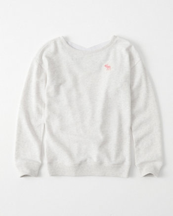 kids strappy-back icon pullover