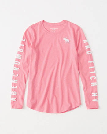 kids logo graphic easy fit tee