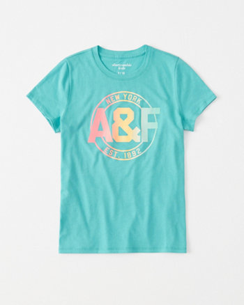 kids dye logo graphic tee