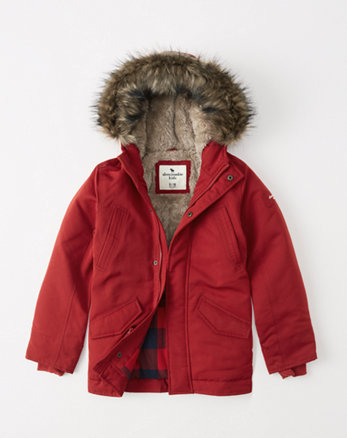 kids the a&f ultimate parka