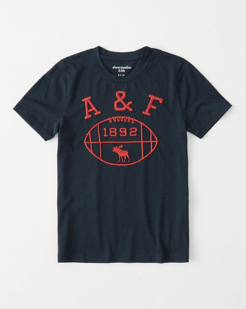 kids varsity logo graphic tee