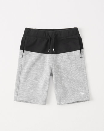 kids icon pull-on fleece shorts