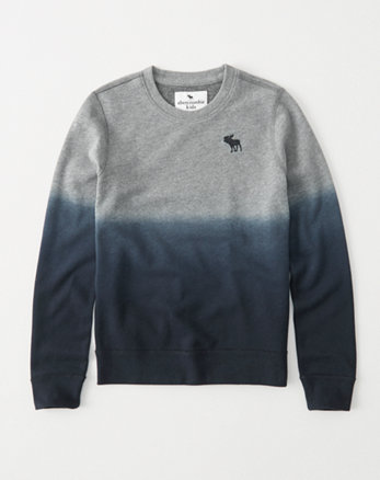 kids patterned icon pullover