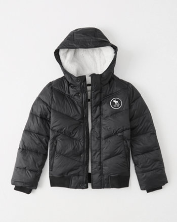 kids the a&f essential puffer