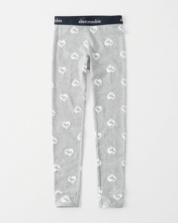 kids logo sleep leggings