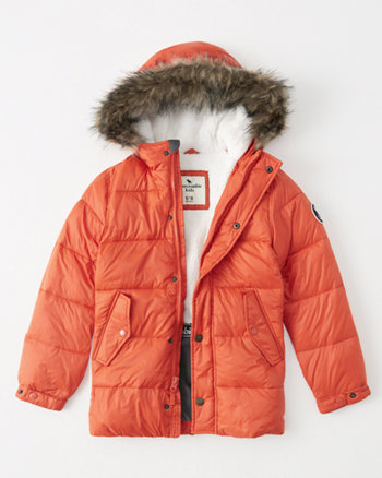 kids the a&f adventure parka