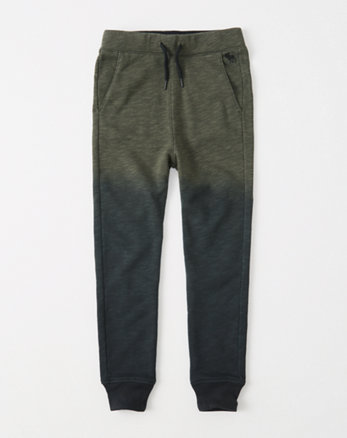 kids patterned joggers