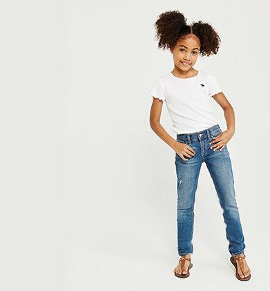 5e2ddb80b21 girls jeans   abercrombie kids