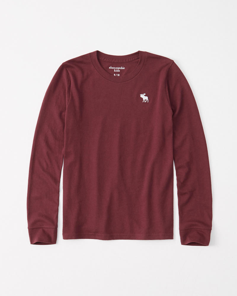 abercrombie icon long-sleeve tee 2 for $10